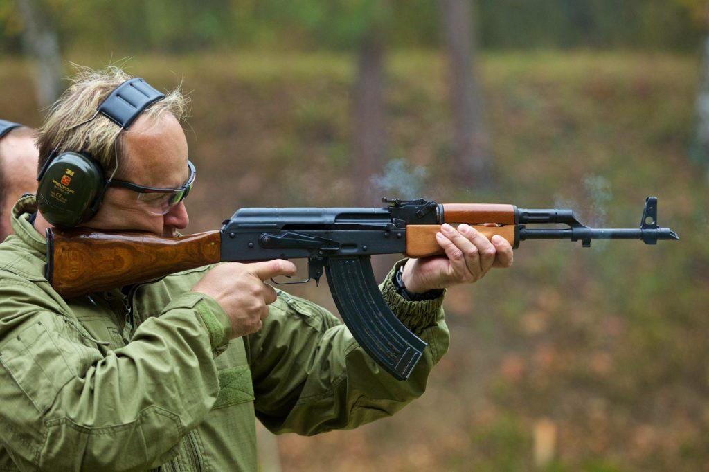 Adrenaline Action Shooting Prague Guns Bullets
